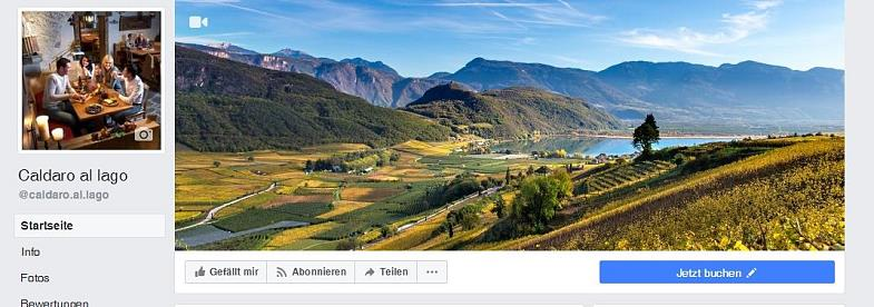 """Caldaro al lago"" on Facebook"