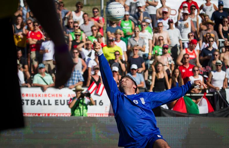 Faustball Fistball EM in Kaltern 2020