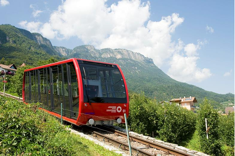 The longest cable car: the Mendel Cable Car