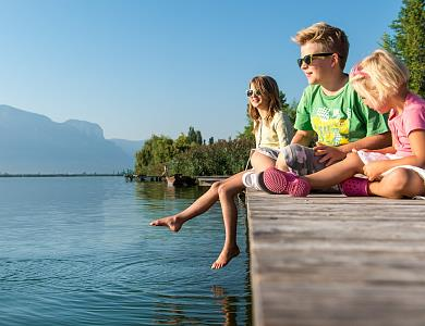 Camping with your family in Kaltern