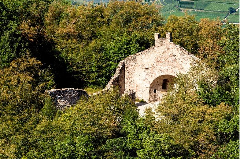 The Saint Peter Ruins in Castelvecchio - one of the oldest churches in South Tyrol