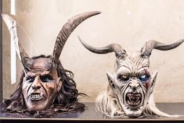 Christmas in Caldaro/Kaltern - 'Krampus' masks exhibition