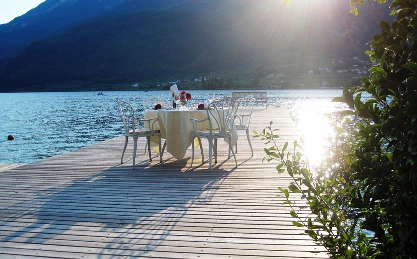 Private Dinner am See