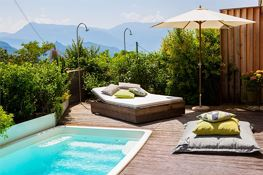 Terrasse mit privatem Pool