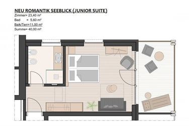 Romantik Junior Suite